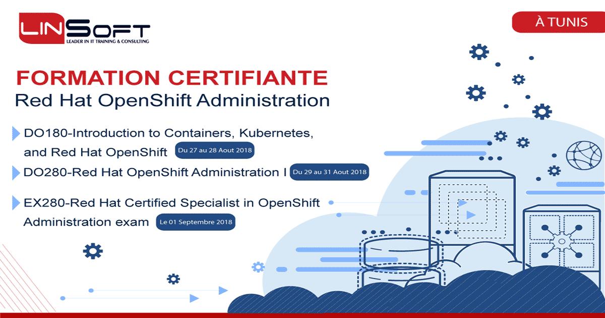 Linsoft Lance La Formation Certifiante Redhat Openshift